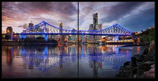 Мост и фонари