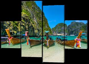 Лодки на мели