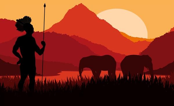 Африка Абстракция