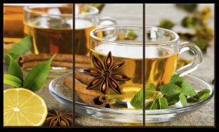 Чай с корицей и мятой