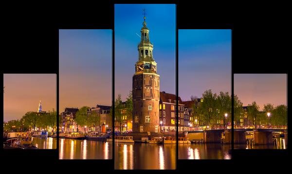 Башня Монтельбаан в Амстердаме