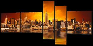 Отражение и город