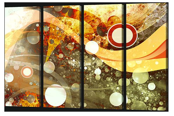 Абстракция круги и пузыри