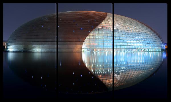 Архитектура, вид ночью