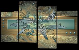 Абстракция лилии