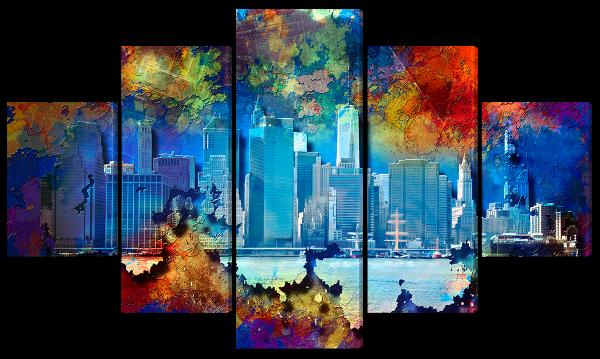 """Абстракция """"Нью-Йорк"""""""