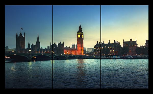 Вечерний пейзаж Лондона