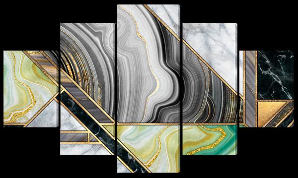 Абстракция мраморная