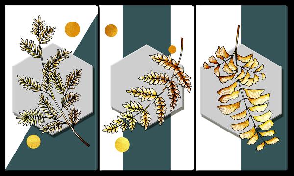 Абстракция из ветвей