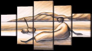 Абстракция из песка