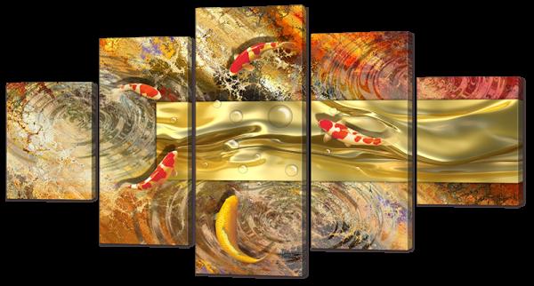 Рыбки абстракция