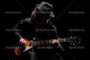 блюз гитара