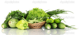 свежий зеленый овощи