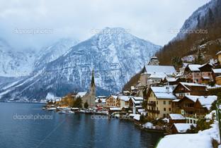 на озере Зальцбург Австрия