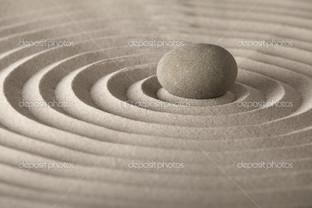 расслабление камень