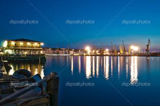 порт в Одессе