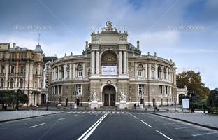 Оперный театр в Одессе