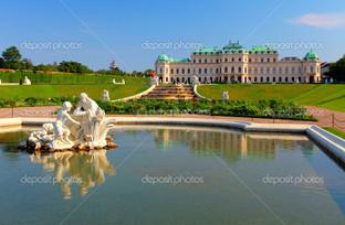 Бельведер дворец в Вене