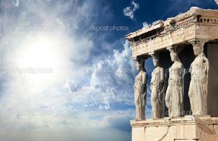 Парфенон в Акрополе