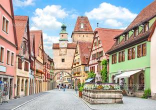 историческая часть города Ротенбург
