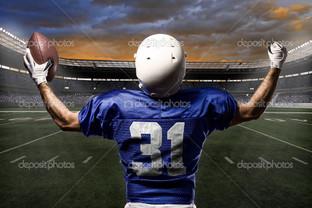 бейсболист на поле
