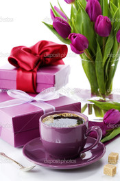 чай и цветы