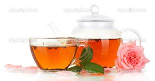 чай и роза
