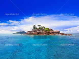 вид на Сейшельские острова