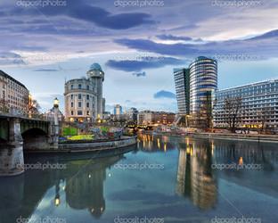 Дунай канал на Вене