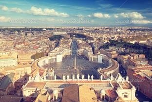 Сен-Питерс сквер в Ватикане