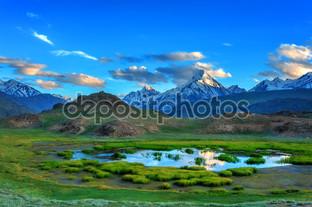 Гималаи красивый пейзаж