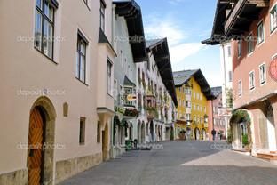 Кицбюэль центр города Австрия
