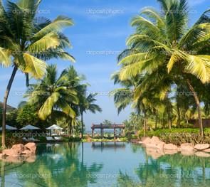 роскошный тропический курорт