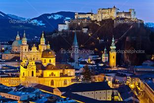 Австрия городской пейзаж